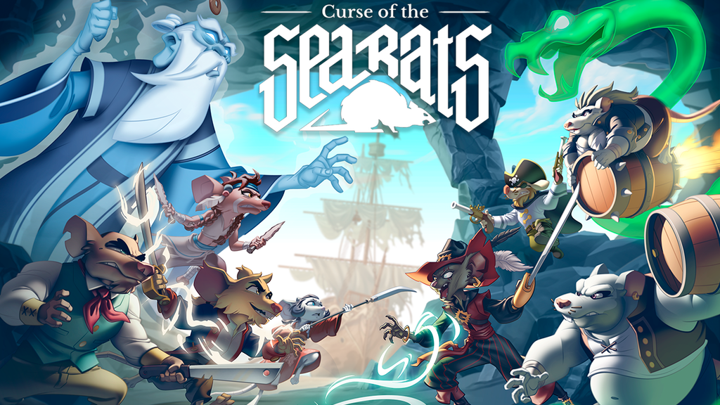 Curse of the Sea Rats Kickstarter Logo