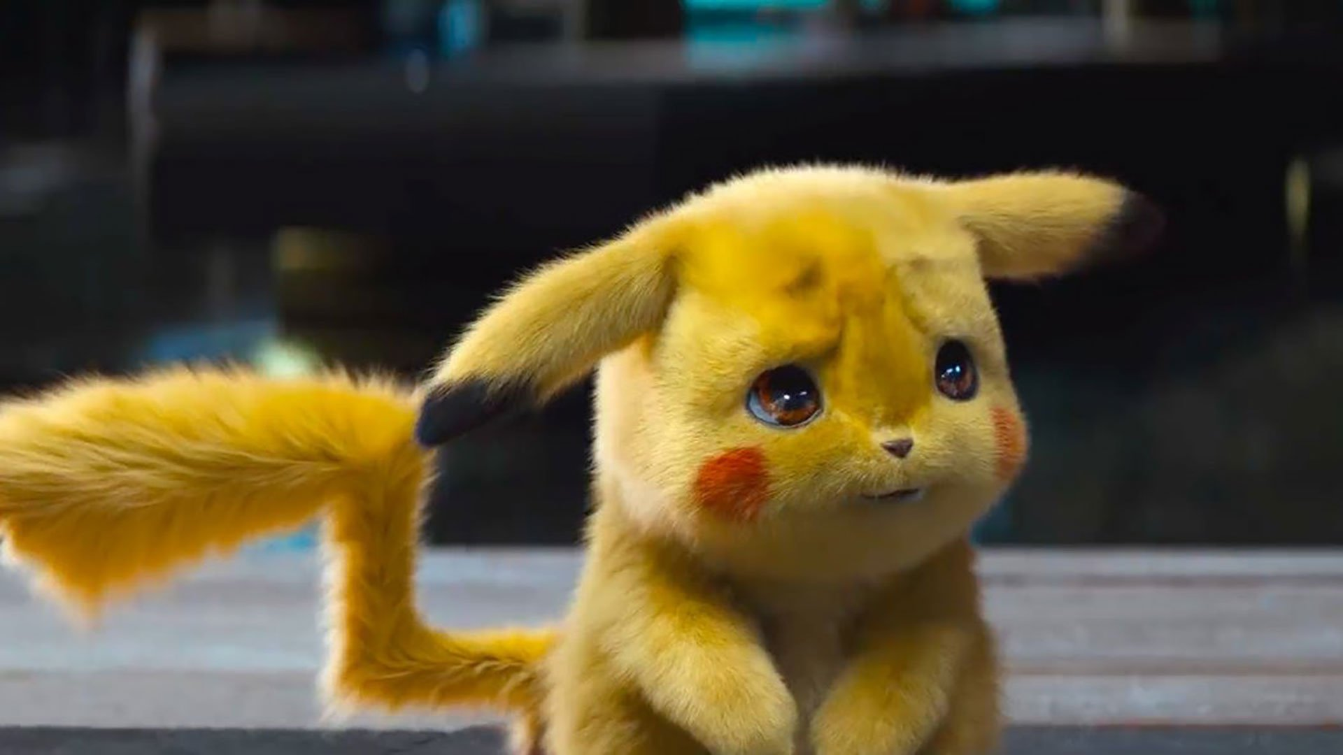 Frowning Detective Pikachu