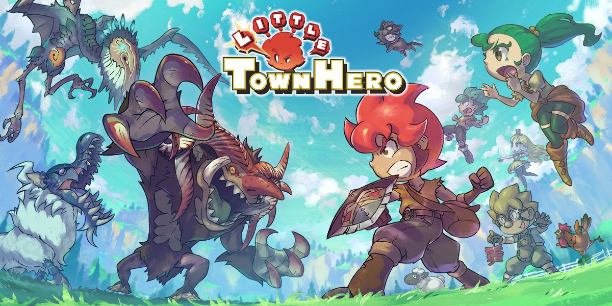 Little Town Hero Switch Review - Logo