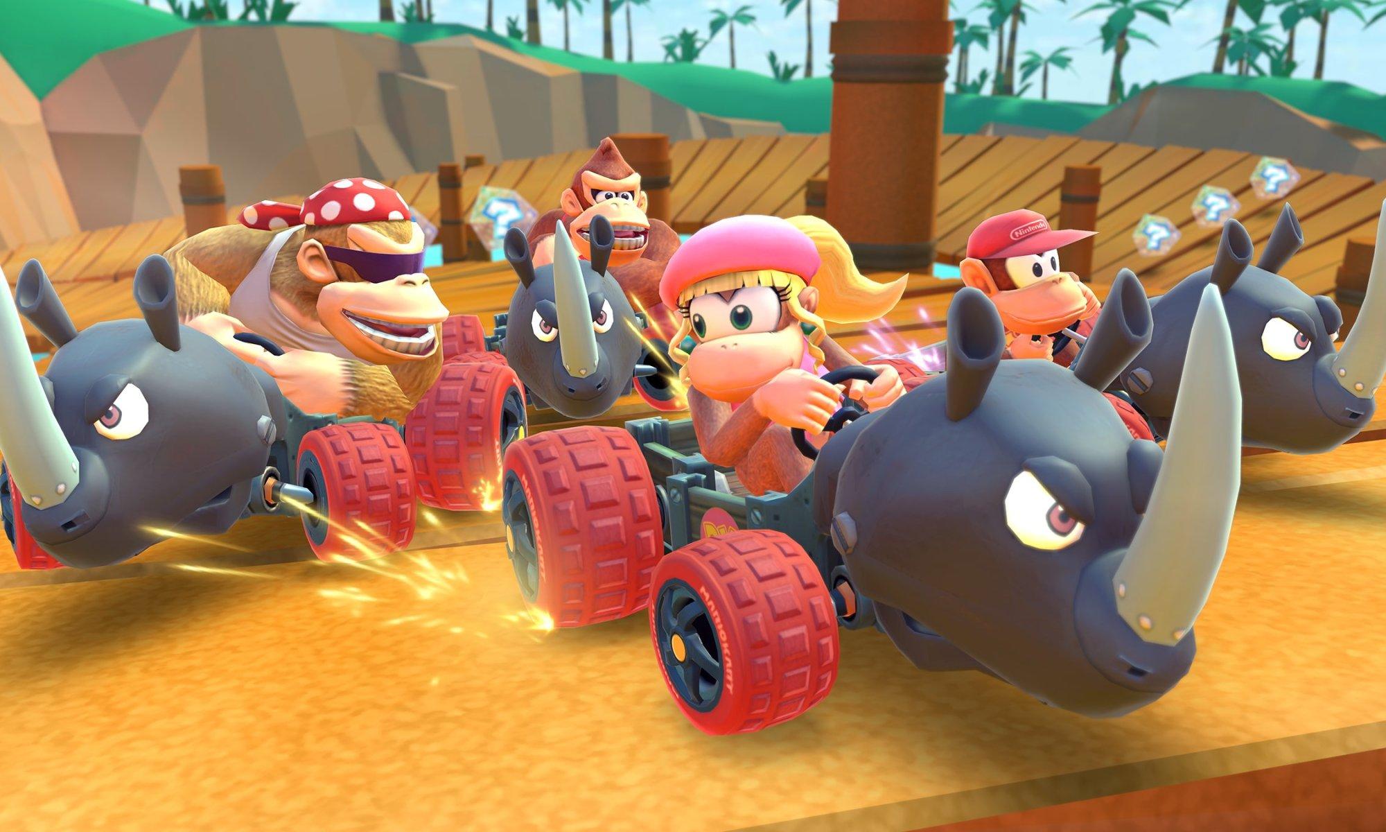 Dixie Kong - Mario Kart Tour