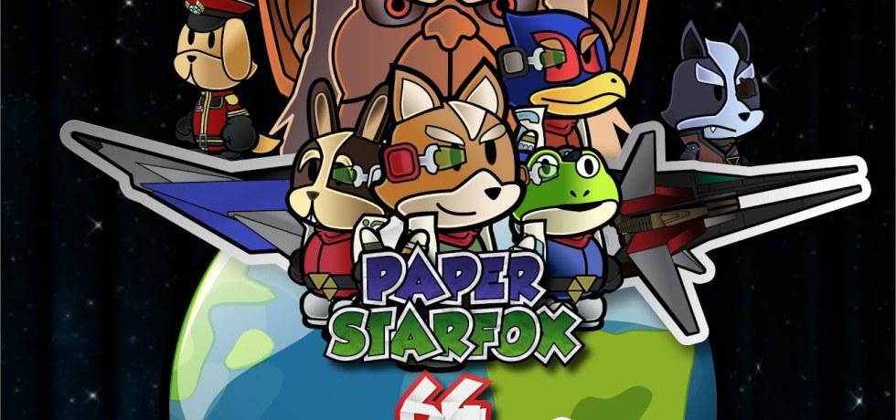 Paper Star Fox 64 Logo