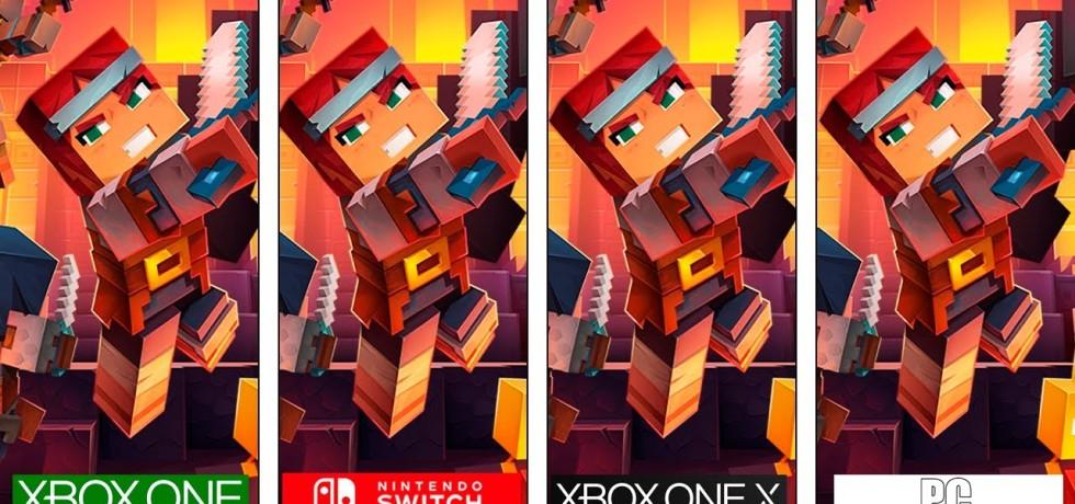 Minecraft Dungeons Switch, Xbox One, PC