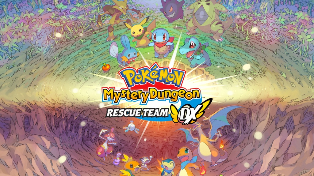 Pokemon Mystery Dungeon Rescue Team DX Logo Nintendo Switch HD