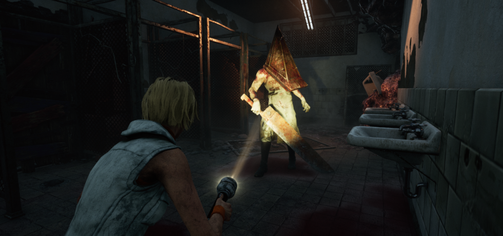 Dead By Daylight Silent Hill DLC, Cheyrl Mason and Pyramid Head