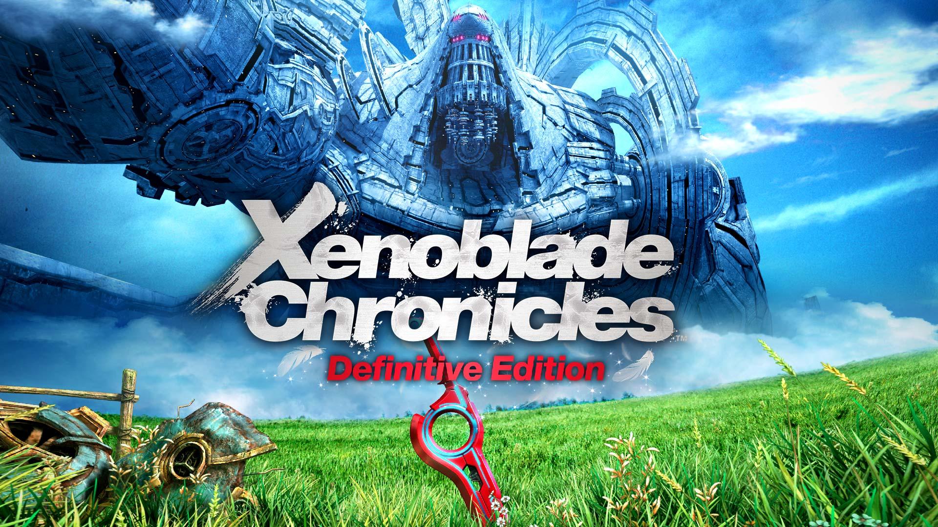 Xenoblade Chronicles Definitive Edition Logo, Casual Mode