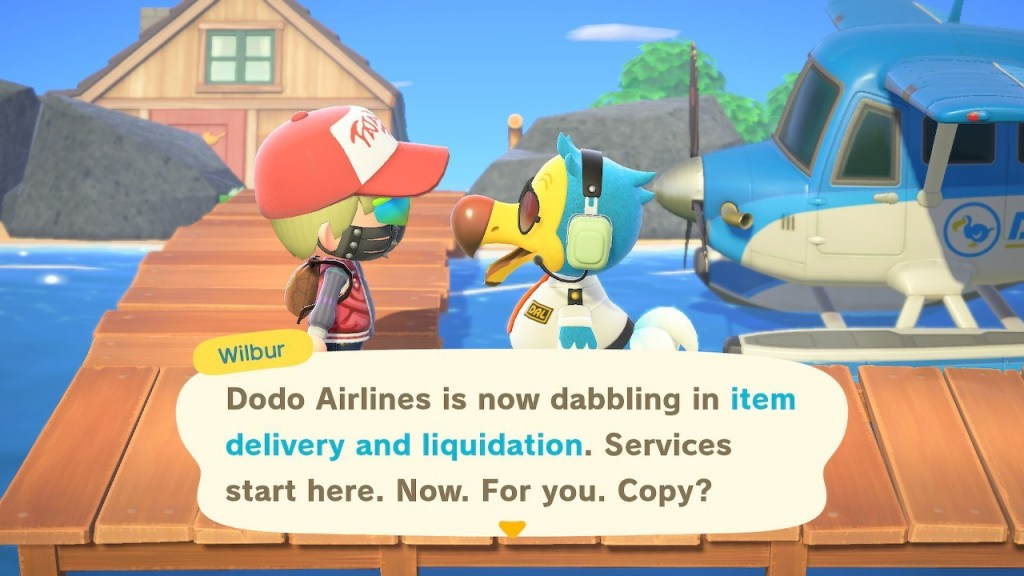 Dodo Airlines Item Delivery and Liquidation
