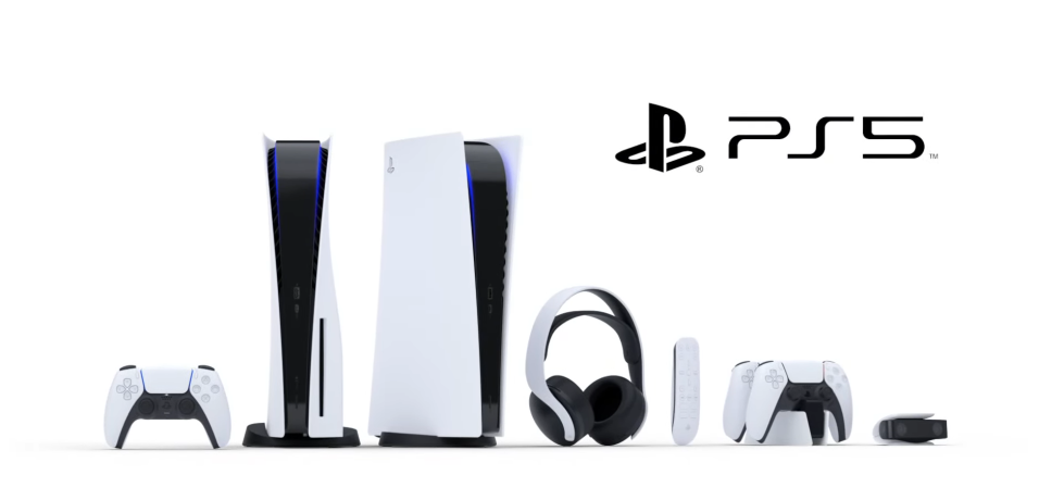 PlayStation 5 Wireless Headset and HD Camera