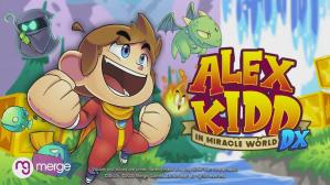 Alex Kidd in Miracle World DX Logo