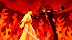 Samurai Jack: Battle Through Time Aku Boss