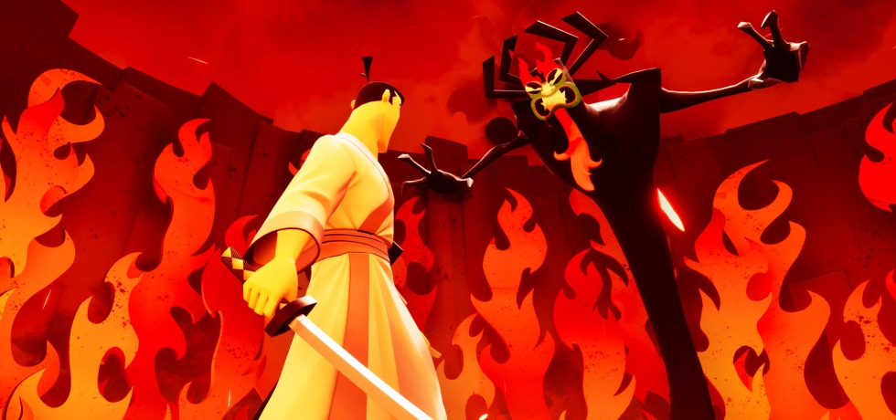 Samurai Jack: Battle Through Time Aku Boss