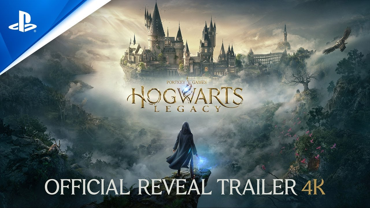 Hogwarts Legacy Reveal Trailer 4k