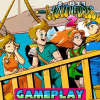 8 bit adventures 2 gameplay