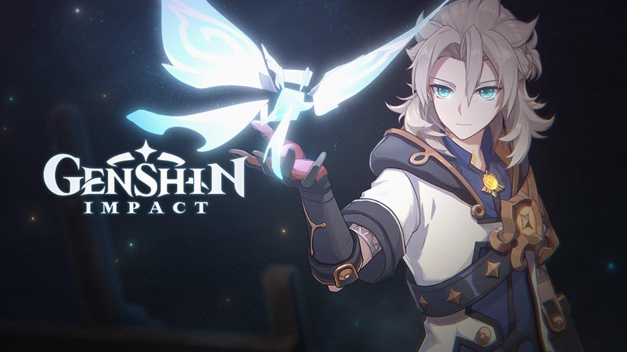 Genshin Impact Albedo Character Art