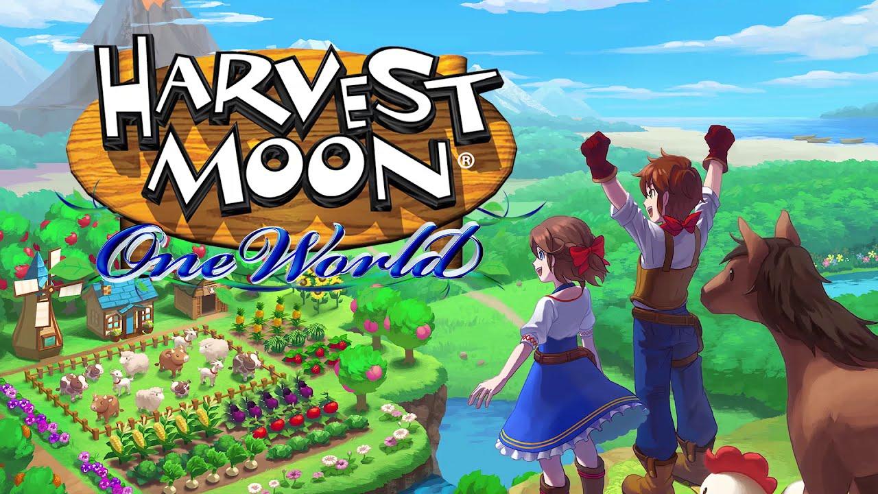 Harvest Moon: One World Logo Switch