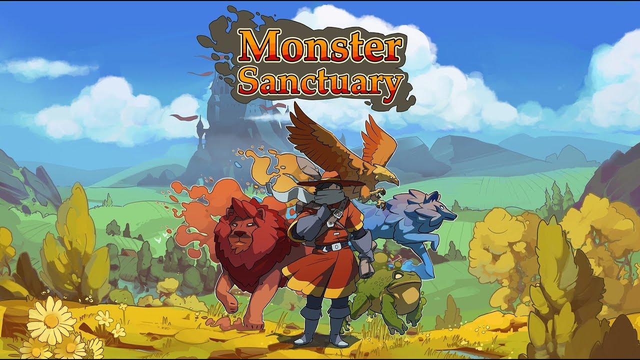 Monster Sancuary Logo
