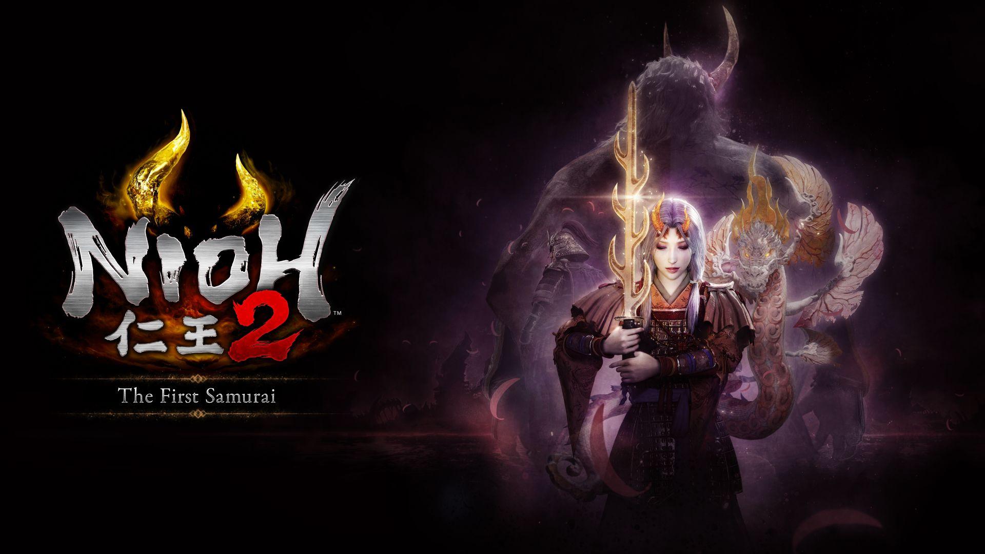Nioh 2 The First Samurai DLC logo