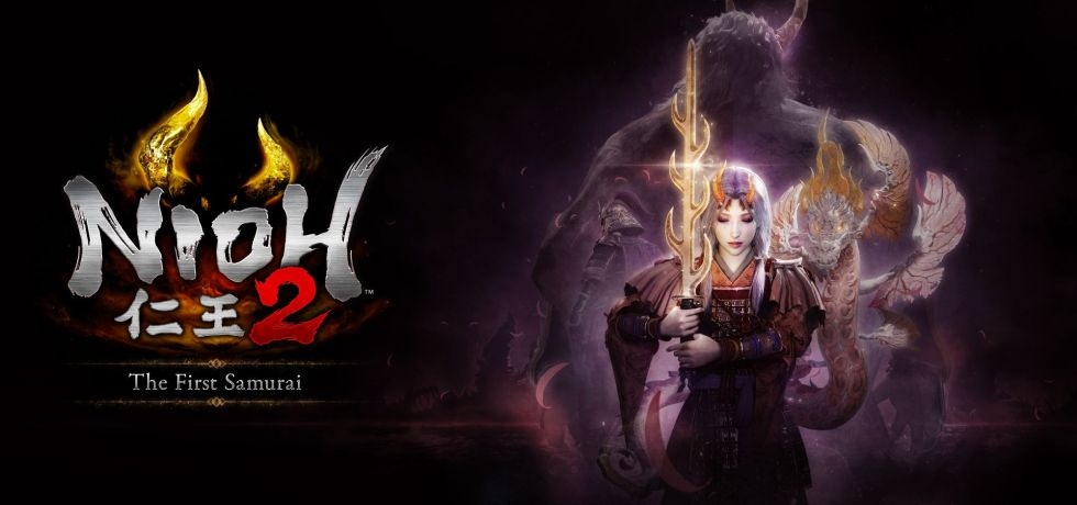 Nioh 2 The First Samurai DLC logo