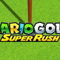 Mario Golf Super Rush Logo