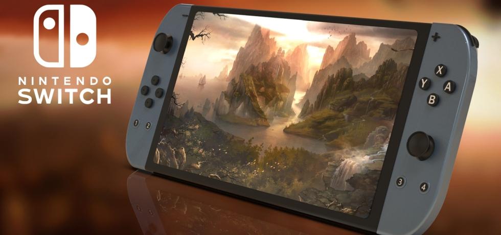 New Nintendo Switch Pro 4k