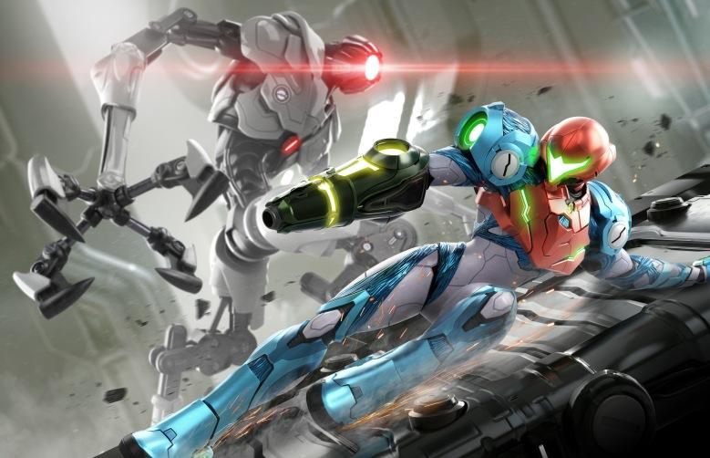 Metroid Dread Artwork